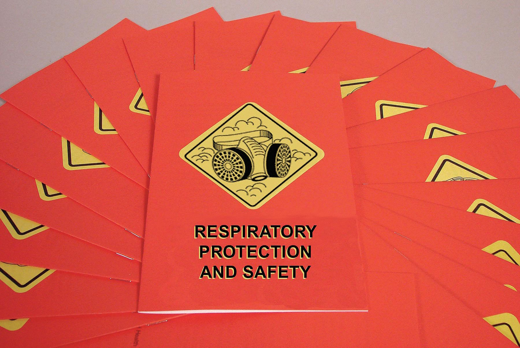 Book/Booklet,  Respiratory Protection,  English,  PK 15