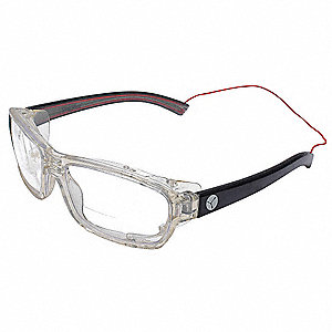 Safety Reader Glasses,Clear