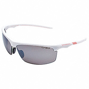 Gray Anti-Reflective Bifocal Safety Reading Glasses, +2.00 Diopter