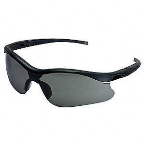 V30 Nemesis S (Small) Scratch-Resistant Safety Glasses, Smoke Lens Color