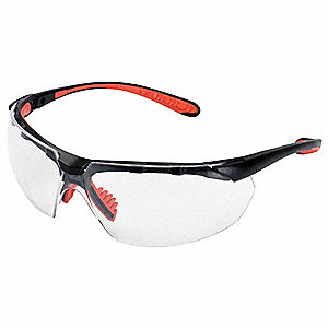 Jackson Safety V40 Maxfire S Anti-Fog, Scratch-Resistant Safety Glasses, Clear Lens Color