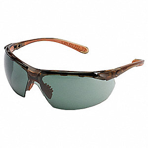 Jackson Safety V40 Maxfire S Anti-Fog, Scratch-Resistant Safety Glasses, Smoke Lens Color
