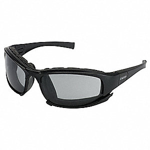 Jackson Safety V50 Calico Anti-Fog, Scratch-Resistant Safety Glasses, Light Smoke Lens Color
