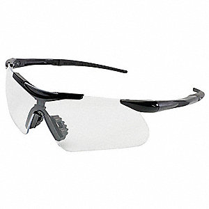 Jackson Safety V60 Safeview Anti-Fog, Scratch-Resistant Safety Glasses, Clear Lens Color