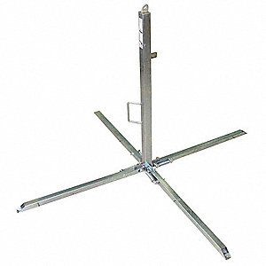 Stanchion,Portable Post,Zinc Plated