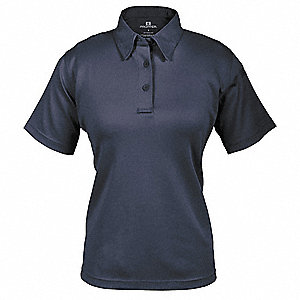 Tactical Polo,M,Short Sleeve,Navy