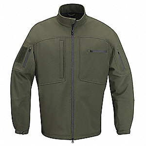 "Jacket, M Fits Chest Size 38"" to 40"", Olive Color"