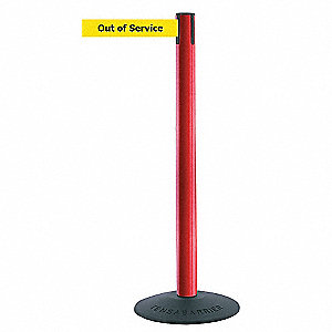 ECONOMY POST,RED,OUT OF SERVICE
