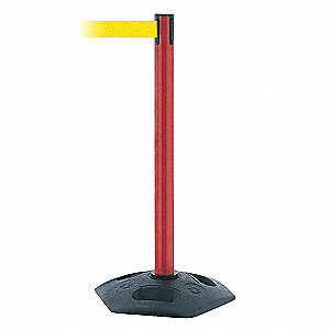 INDOOR/OUTDOOR PORTABLE POST,PVC,RD