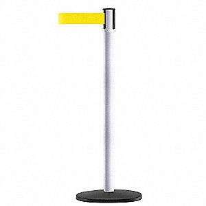 INDOOR PORTABLE POST,POST WHITE
