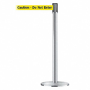 POST, CHROME,CAUTION DO NOT ENTER