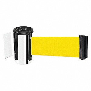 BELT BARRIER, CHROME,BELT YELLOW