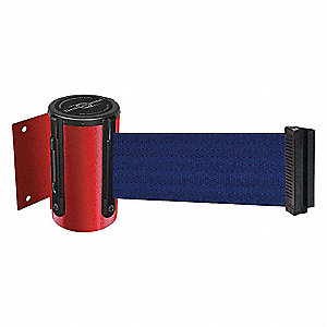 BELT BARRIER, RED,BELT COLOR BLUE