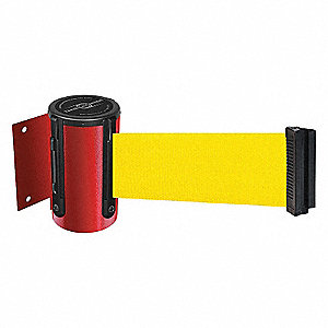 BARRIERE RUBAN, ROUGE, RUBAN JAUNE