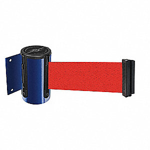 BELT BARRIER, BLUE,BELT COLOR RED