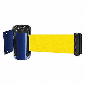 BELT BARRIER, BLUE,BELT COLOR YEL