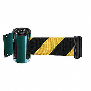 BELT BARRIER GRN WITH YEL/BLK BELT