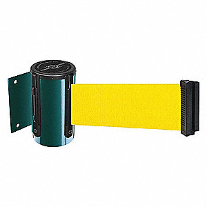 BELT BARRIER GREEN WITH YELLOW BELT