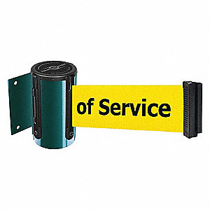 BELT BARRIER, GREEN,BELT COLOR YEL