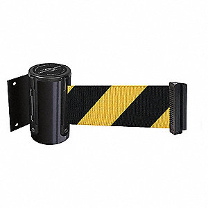 BELT BARRIER, BLACK,BELT YEL/BLK