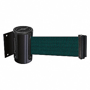 BELT BARRIER, BLACK,BELT COLOR GRN