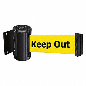 BELT BARRIER, BLACK,BELT COLOR YEL