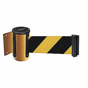 BELT BARRIER, YELLOW,BELT YEL/BLK