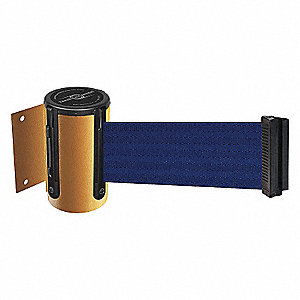 BELT BARRIER, YELLOW,BELT COLOR BLU