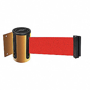 BELT BARRIER, YELLOW,BELT COLOR RED