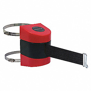 BELT BARRIER, RED,BELT COLOR BLACK