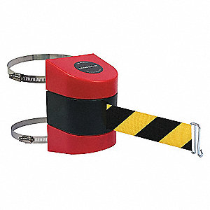 BELT BARRIER, RED,BELT YELLOW/BLACK