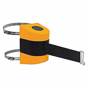 BELT BARRIER YELLOW WITH BLACK BELT