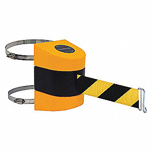 BELT BARRIER YELLOW W/YEL/BLK BELT