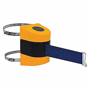 BELT BARRIER YELLOW WITH BLUE BELT