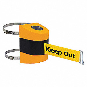 BELT BARRIER YELLOW W/YELLOW BELT
