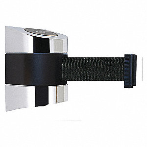 BELT BARRIER, CHROME,BELT COLOR BLK