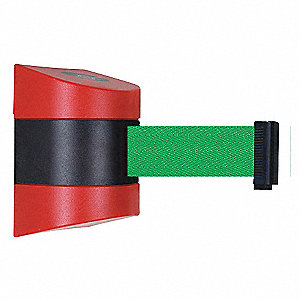 BELT BARRIER, RED,BELT COLOR GREEN
