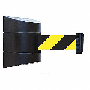 BELT BARRIER BLK WITH YEL/BLK BELT