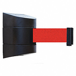 BELT BARRIER BLACK WITH RED BELT