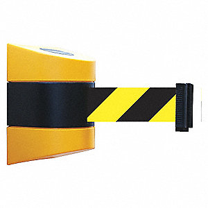 BELT BARRIER YEL WITH BLK/YEL BELT