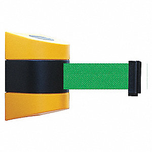 BELT BARRIER YELLOW WITH GREEN BELT