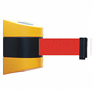 BELT BARRIER YELLOW WITH RED BELT