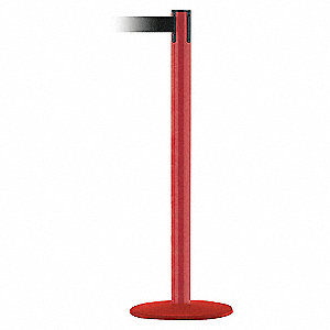 PORTABLE POST,BLACK BELT,71/2 FT