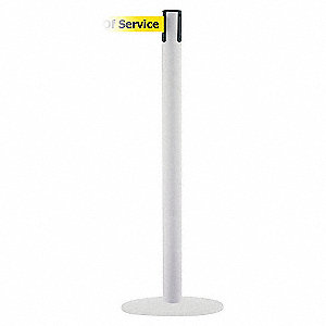 PORTABLE POST OUT OF SERVICE 71/2FT