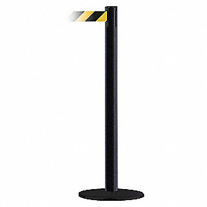 PORT POST,BLACK/YELLOW BELT,71/2 FT