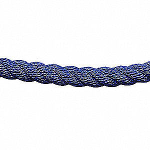 CLASSIC POST ROPE,TWISTED ROPE,BLUE