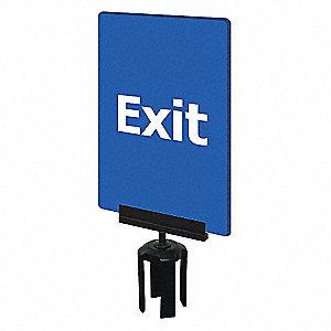 ACRYLIC SIGN,BLUE