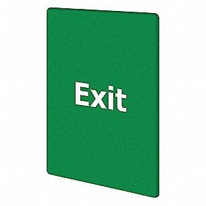 EXIT PLEASE DO NOT ENTER GREEN