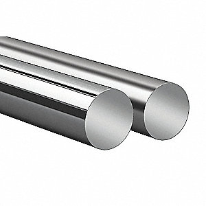 TUBE HORIZONTAL ADAPTARAIL, INOX.