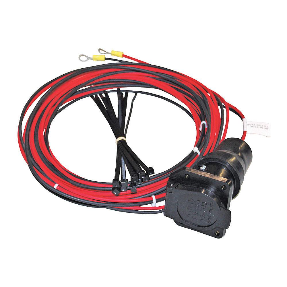 Snowex Vehicle Wiring Harness 7way 24ft Tailgate Spreader Automotive Supplies